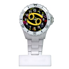 Cancer Floating Zodiac Sign Nurses Watches by theimagezone