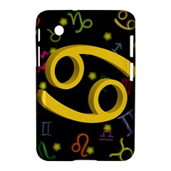 Cancer Floating Zodiac Sign Samsung Galaxy Tab 2 (7 ) P3100 Hardshell Case  by theimagezone