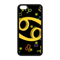 Cancer Floating Zodiac Sign Apple Iphone 5c Seamless Case (black) by theimagezone