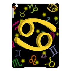 Cancer Floating Zodiac Sign Ipad Air Hardshell Cases by theimagezone