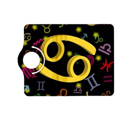Cancer Floating Zodiac Sign Kindle Fire Hd (2013) Flip 360 Case by theimagezone