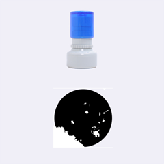 Space Like No 4 Rubber Round Stamps (small)