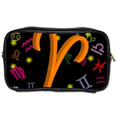 Aries Floating Zodiac Sign Toiletries Bags by theimagezone