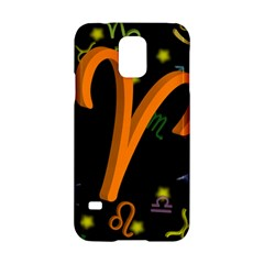 Aries Floating Zodiac Sign Samsung Galaxy S5 Hardshell Case  by theimagezone