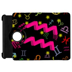 Aquarius Floating Zodiac Sign Kindle Fire Hd Flip 360 Case by theimagezone