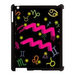 Aquarius Floating Zodiac Sign Apple Ipad 3/4 Case (black) by theimagezone