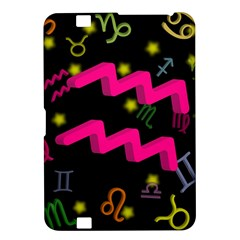 Aquarius Floating Zodiac Sign Kindle Fire Hd 8 9  by theimagezone