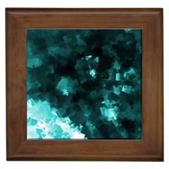 Space Like No 5 Framed Tiles by timelessartoncanvas