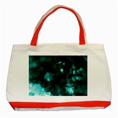 Space Like No 5 Classic Tote Bag (red)  by timelessartoncanvas