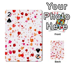 Heart 2014 0603 Playing Cards 54 Designs  by JAMFoto