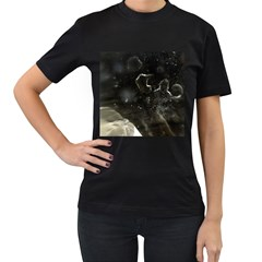 Space Like No 6 Women s T Shirt (black) (two Sided) by timelessartoncanvas