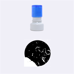 Space Like No 6 Rubber Round Stamps (small)