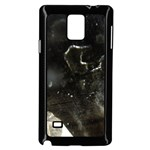 Space Like No.6 Samsung Galaxy Note 4 Case (Black) Front