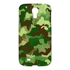 Camouflage Green Samsung Galaxy S4 I9500/i9505 Hardshell Case by MoreColorsinLife