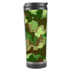 Camouflage Green Travel Tumblers by MoreColorsinLife