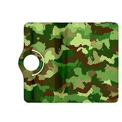 Camouflage Green Kindle Fire HDX 8.9  Flip 360 Case by MoreColorsinLife