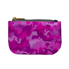 Camouflage Hot Pink Mini Coin Purses by MoreColorsinLife