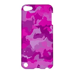 Camouflage Hot Pink Apple Ipod Touch 5 Hardshell Case by MoreColorsinLife