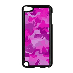 Camouflage Hot Pink Apple Ipod Touch 5 Case (black) by MoreColorsinLife