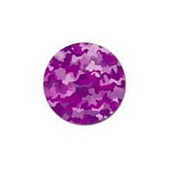 Camouflage Purple Golf Ball Marker (4 Pack) by MoreColorsinLife
