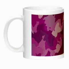 Camouflage Purple Night Luminous Mugs by MoreColorsinLife