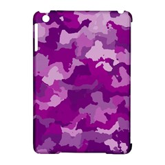 Camouflage Purple Apple iPad Mini Hardshell Case (Compatible with Smart Cover) by MoreColorsinLife