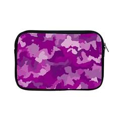 Camouflage Purple Apple iPad Mini Zipper Cases by MoreColorsinLife