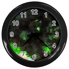Space Like No 7 Wall Clocks (black) by timelessartoncanvas