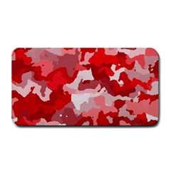 Camouflage Red Medium Bar Mats by MoreColorsinLife