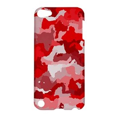 Camouflage Red Apple Ipod Touch 5 Hardshell Case by MoreColorsinLife