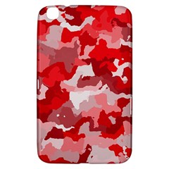Camouflage Red Samsung Galaxy Tab 3 (8 ) T3100 Hardshell Case  by MoreColorsinLife