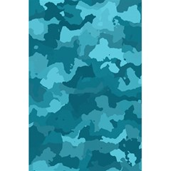 Camouflage Teal 5 5  X 8 5  Notebooks by MoreColorsinLife