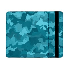 Camouflage Teal Samsung Galaxy Tab Pro 8 4  Flip Case by MoreColorsinLife