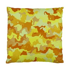 Camouflage Yellow Standard Cushion Case (one Side)  by MoreColorsinLife