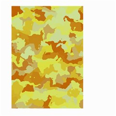 Camouflage Yellow Large Garden Flag (two Sides) by MoreColorsinLife