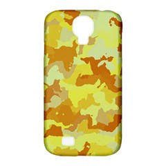Camouflage Yellow Samsung Galaxy S4 Classic Hardshell Case (pc+silicone) by MoreColorsinLife