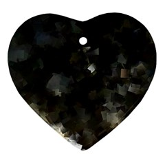 Space Like No 8 Ornament (heart)  by timelessartoncanvas