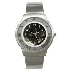 Space Like No 8 Stainless Steel Watches by timelessartoncanvas