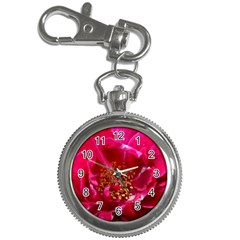 Red Rose Key Chain Watches by timelessartoncanvas