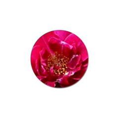 Red Rose Golf Ball Marker