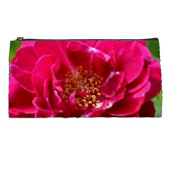 Red Rose Pencil Cases by timelessartoncanvas