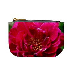 Red Rose Mini Coin Purses by timelessartoncanvas