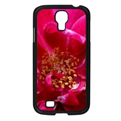 Red Rose Samsung Galaxy S4 I9500/ I9505 Case (black) by timelessartoncanvas