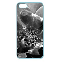 Black And White Rose Apple Seamless Iphone 5 Case (color) by timelessartoncanvas