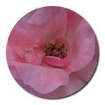 Pink Rose Round Mousepads