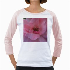 Pink Rose Girly Raglans