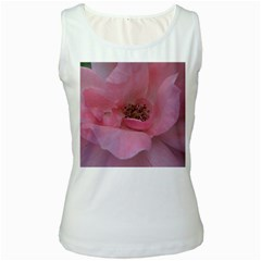 Pink Rose Women s Tank Tops