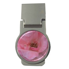 Pink Rose Money Clips (Round)