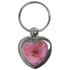Pink Rose Key Chains (Heart)
