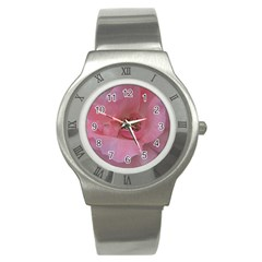 Pink Rose Stainless Steel Watches